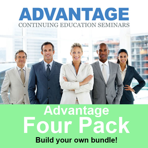 Continuing Education training course 4-pack